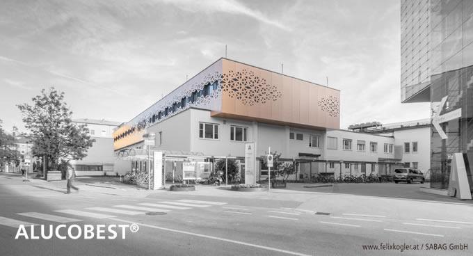 ALUCOBEST® PVDF Fassaden Alu-Verbundplatten