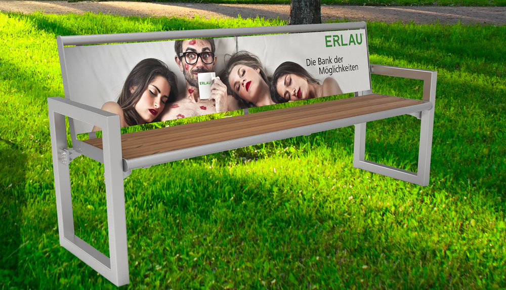 ERLAU: Hochwertiges Außenmobiliar