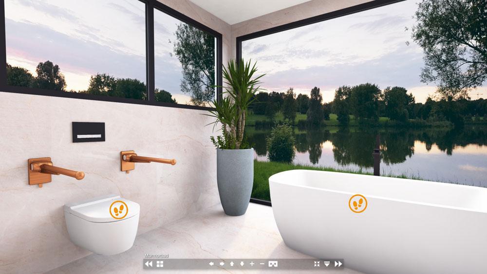 Die erste virtuelle barrierefreie Badausstellung!