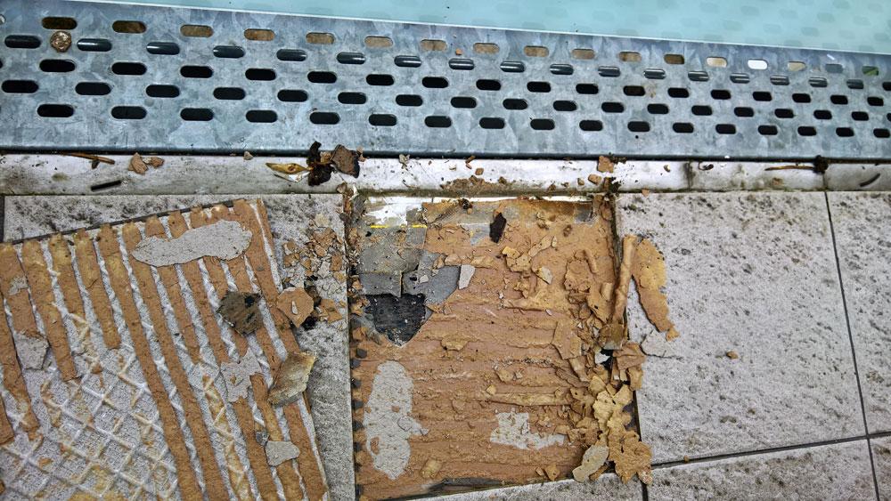 WestWood-Lösungen zur Sanierung einer Balkonanlage