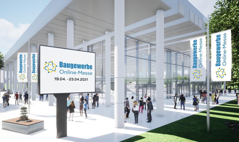 Baugewerbe Online-Messe: 19.04. bis 23.04.2021