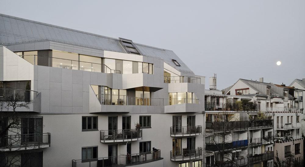 APERAM: Klimafreundliche Architektur am Dach