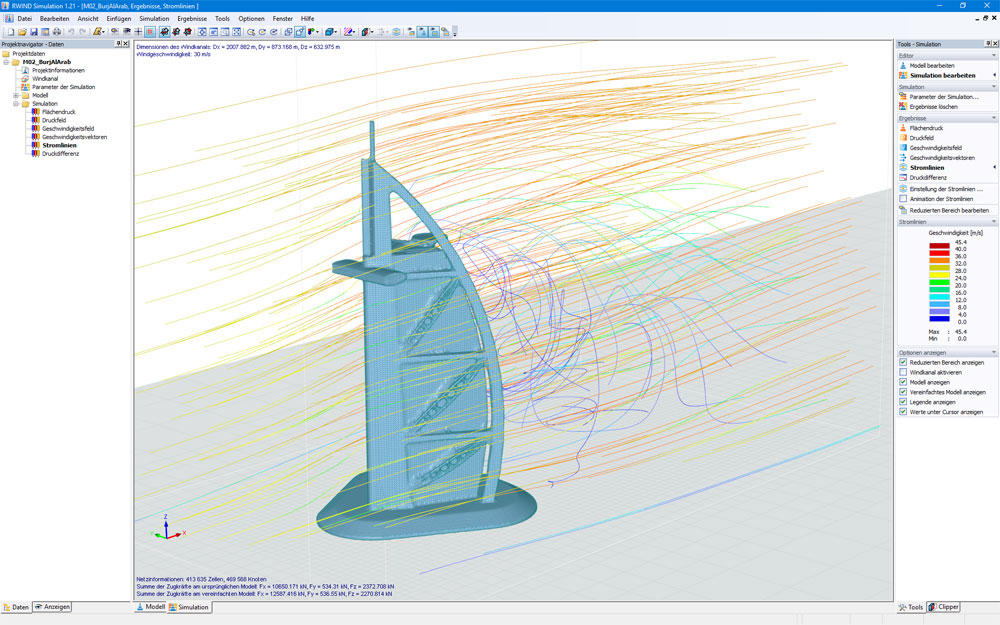 RWIND Simulation
