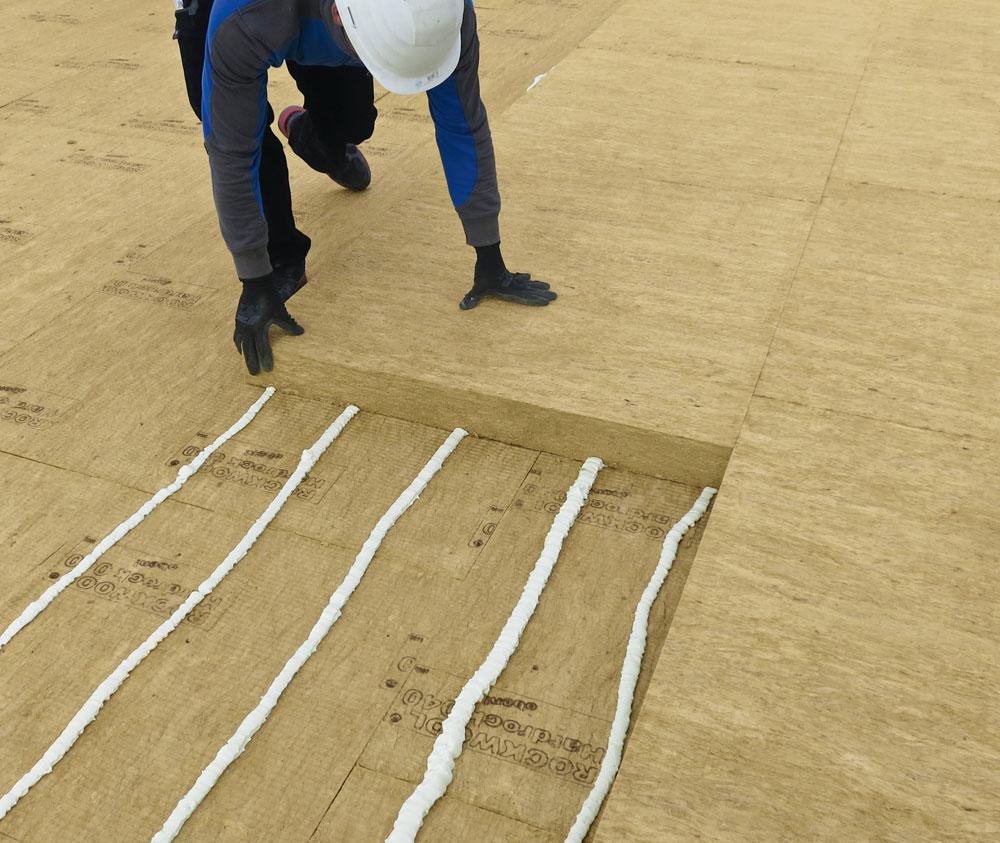 Innovative Steinwolle-Dämmplatte von ROCKWOOL