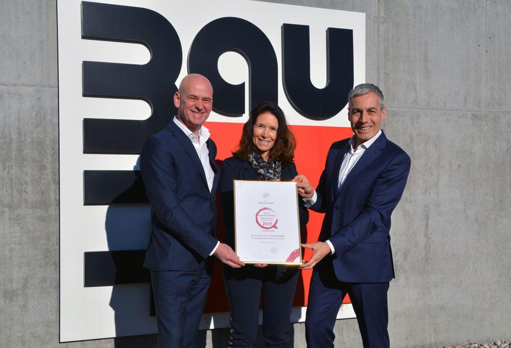 Baumit wird mit dem Quality Award ausgezeichnet