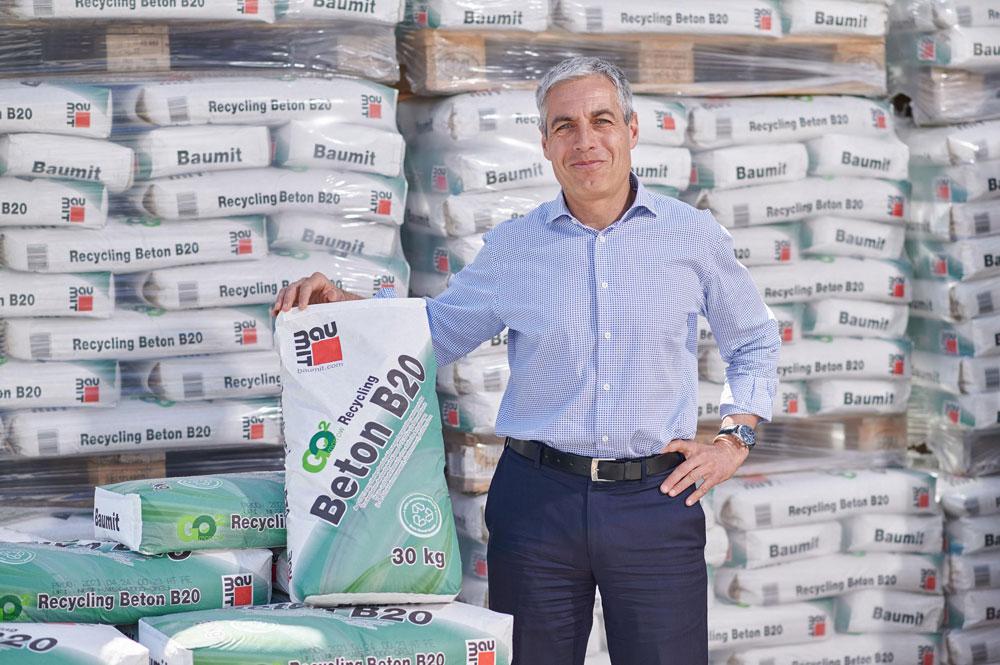 Baumit GO2morrow Recycling Beton