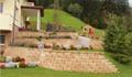 RIEDER: Mit dem BAYFIELD® STÜTZMAUER – System bringen Sie Form in Ihren Garten