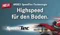 ARDEX: Neu - High-Speed für Bodenbelagsklebstoffe
