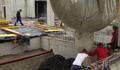 GLAPOR: Glapor: Schaumglas-Leichtschüttung für Parkdeck auf Käsekeller