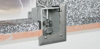 DEHN: Fachgerechte Integration von Blitzschutztrennstellen in Wärmedämmverbundsysteme