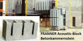 FRANNER: FRANNER: Optimaler Schallschutz als Mauerkonstruktion