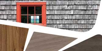 <br>Schluss mit verwitterten Holz-<br>fassaden, die Farbe verlieren!