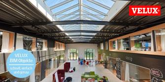 VELUX: Modular Skylights für gewerbliche Gebäude