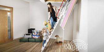 WIPPRO: Hochdämmend: Die neue Wippro Dachbodentreppe KLIMATEC 160
