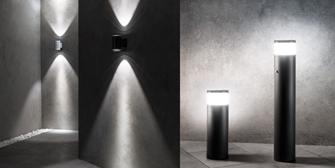 <br>ESYLUX: Frische Lichtakzente mit den neuen ALVA Außenleuchten