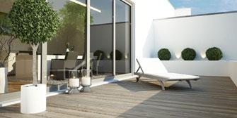 FRANNER: ETA-geprüfte Trittschalldämmung für Terrassenböden und Balkone