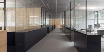 MARTE GLAS: Glas Marte: Ästhetische Glas-trennwände, effiziente Montage!