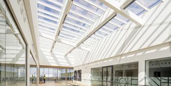 VELUX: Modulares Lichtdach-System für den Objektbau von VELUX