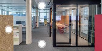 LINDNER: 360°-Rundgang von Lindner führt durch moderne Arbeitswelten