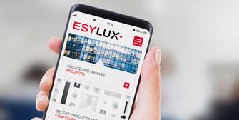 ESYLUX: Szeneneditor und Sammelverar-beitung: Update für die ESY-App