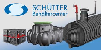 SCHÜTTER: SCHÜTTER Behältercenter: Wassermanagement mit System!