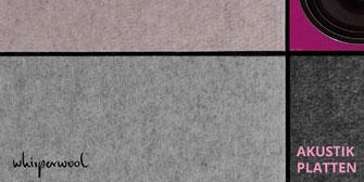 TANTE LOTTE DESIGN: Whisperwool: Natürlich leise, die Akustikinnovation aus Schafwolle