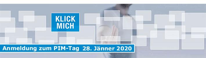 Anmeldung zum PIM-Tag 28. Jänner 2020
