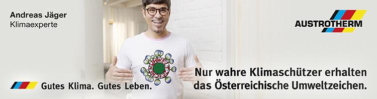 Wahre Klimaschützer erhalten das Österreichische Umweltzeichen | Austrotherm - Dämmstoffe, XPS, Bauplatte