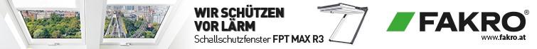 FAKRO Dachflächenfenster GmbH - Klapp-Schwingfenster FPT MAX R3