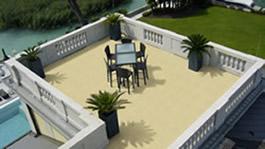 Balkon- und Terrassen-Studio
